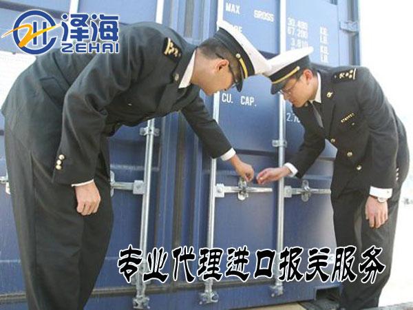 专业代理香港进口清关